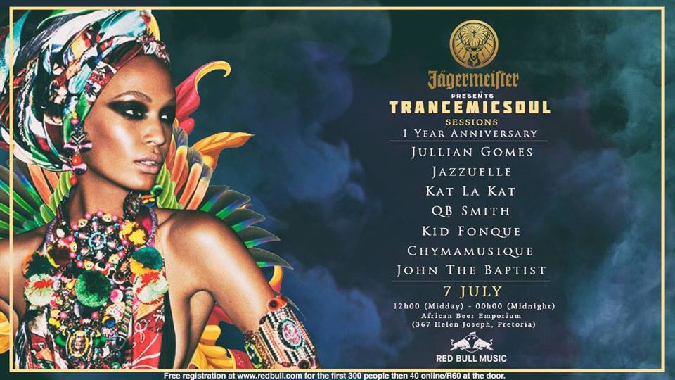 Jägermeister Presents Trancemicsoul Sessions 1 Year Anniversary — 7 July 2018